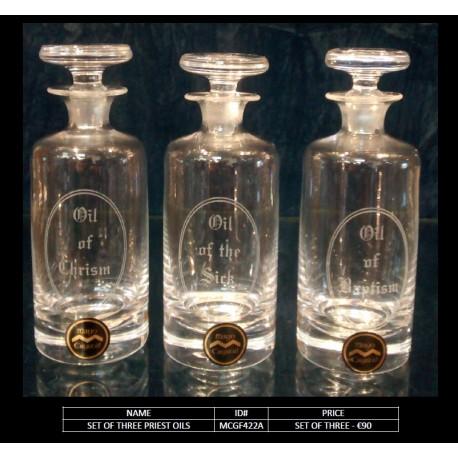 Christening Oils - set of 3