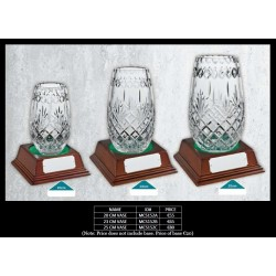 25 CM Vase (MCS152C) with Base