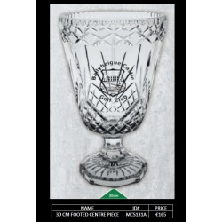 33 CM Footed Vase