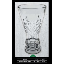 34 CM Footed Vase